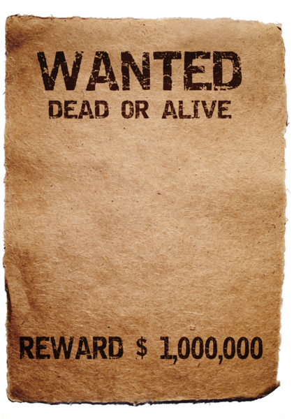 Wanted transparent dead or alive. Psd official psds