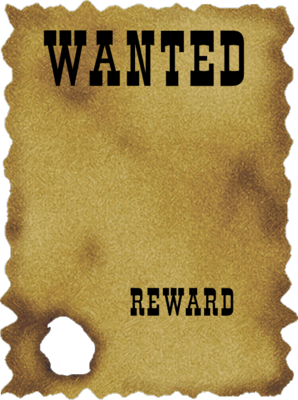 Wanted transparent flyer template. Most posters templates fiveoutsiders