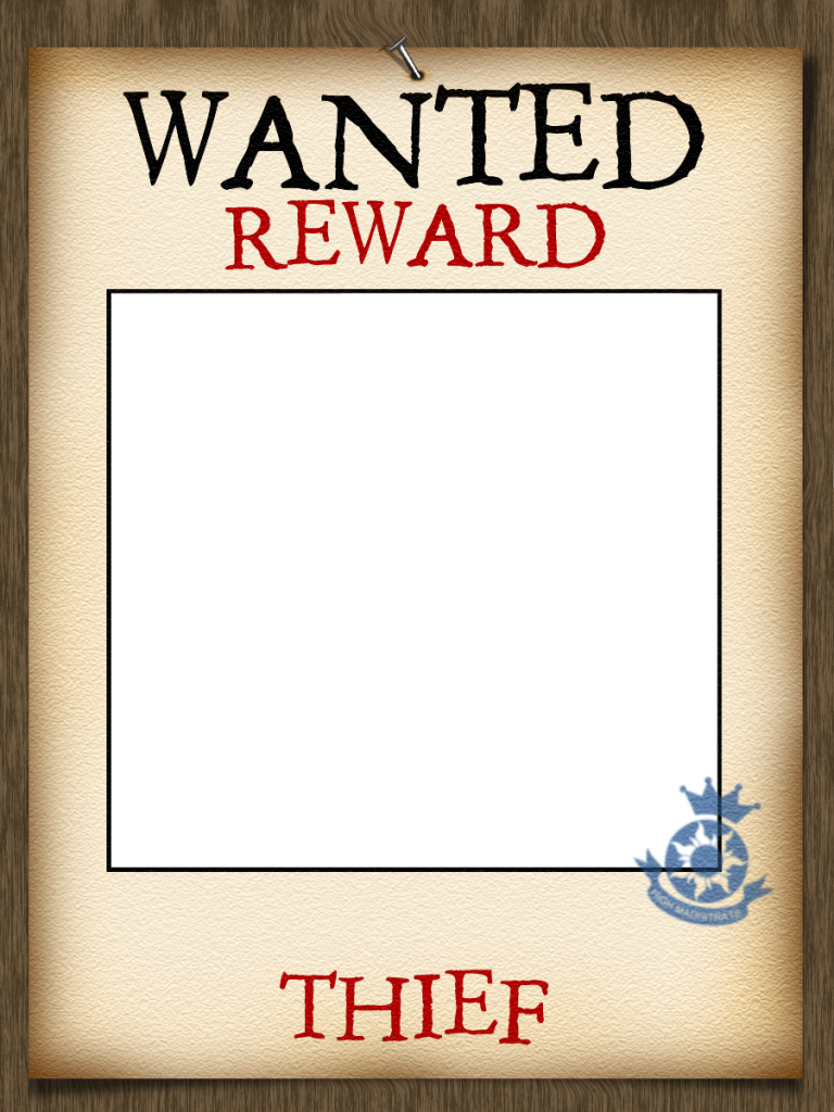 Wanted transparent poster. Tangled photo frame add