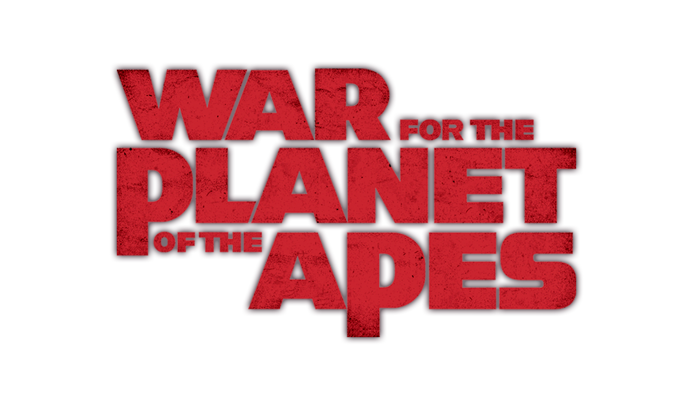 War for the planet of the apes logo png. Partner toolkit title treatment
