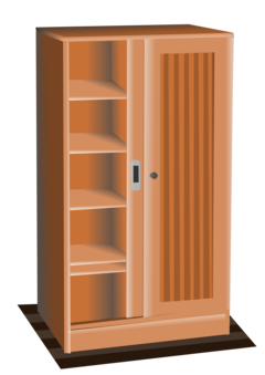 Wardrobe drawing armoire. Kitchen cabinet cupboard furniture