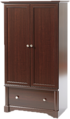 Wardrobe drawing armoire. Closet storage you ll