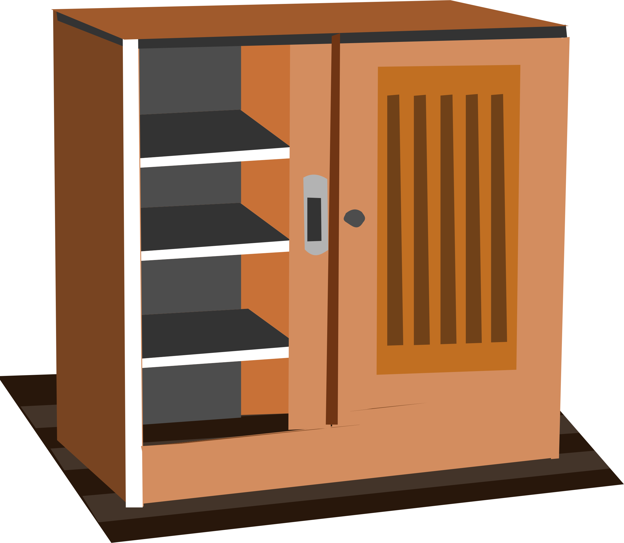 Wardrobe drawing cupboard. Collection of free closeting