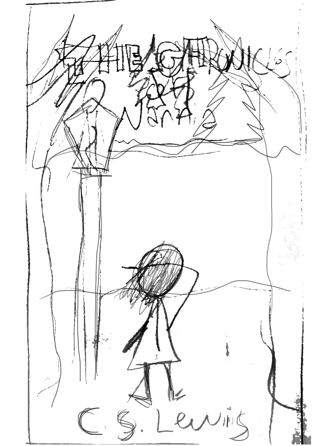 costume drawing narnia