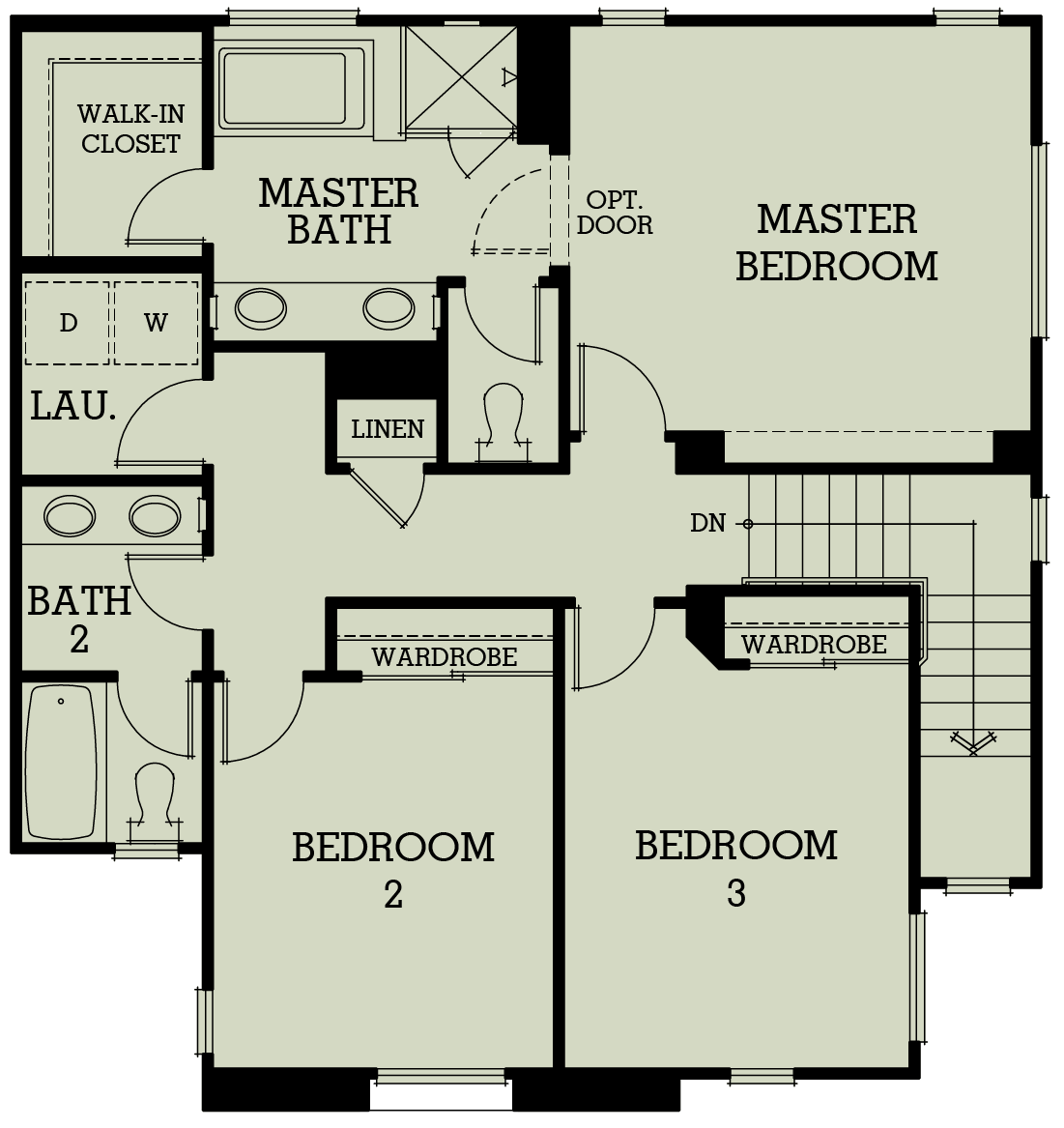 wardrobe drawing floor plan