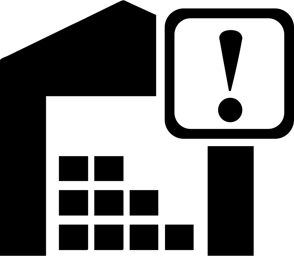 Warehouse vector icon. Svg png free download