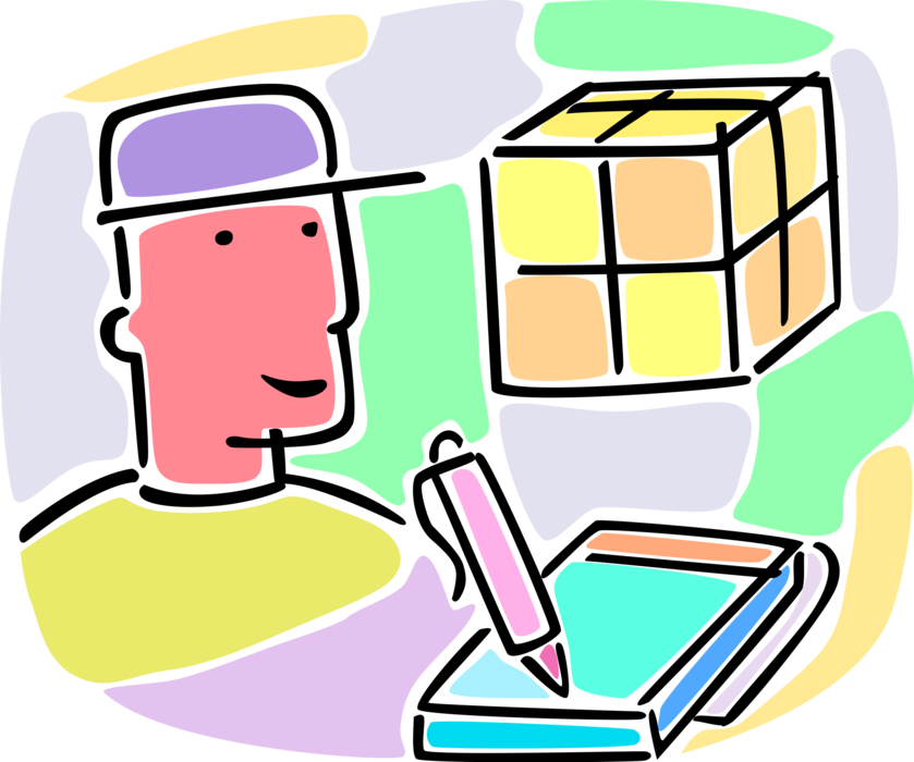 Package vector shipment. Warehouse worker with courier