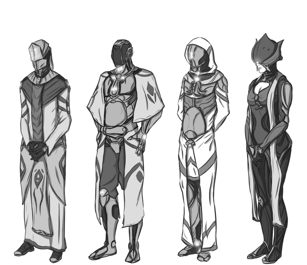 Orokin outfit designs art. Warframe drawing fan graphic free stock