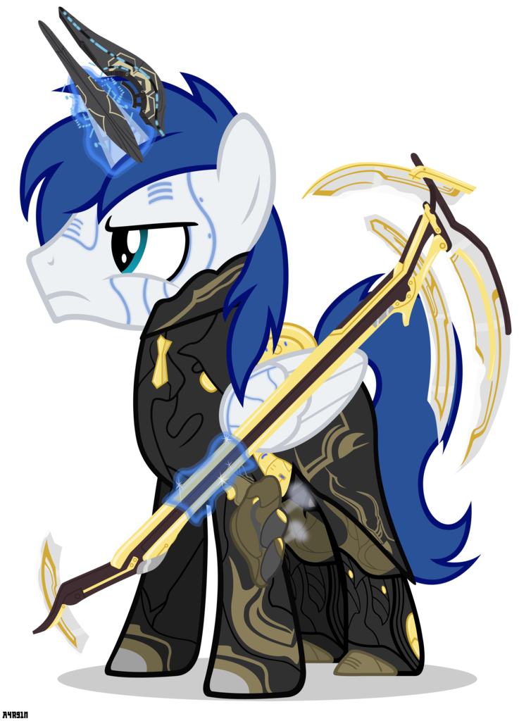 Warframe drawing frost. Alicorn oc angry