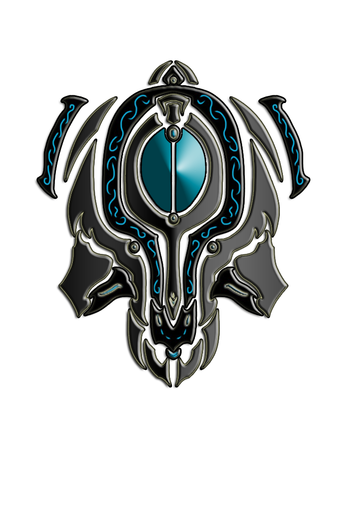 Warframe drawing mag. Coil tribal helmet by