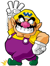 Wedgie drawing bungee. Wario super mario wiki