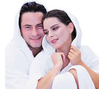 Warm touch couple png. Relaxation for two spa
