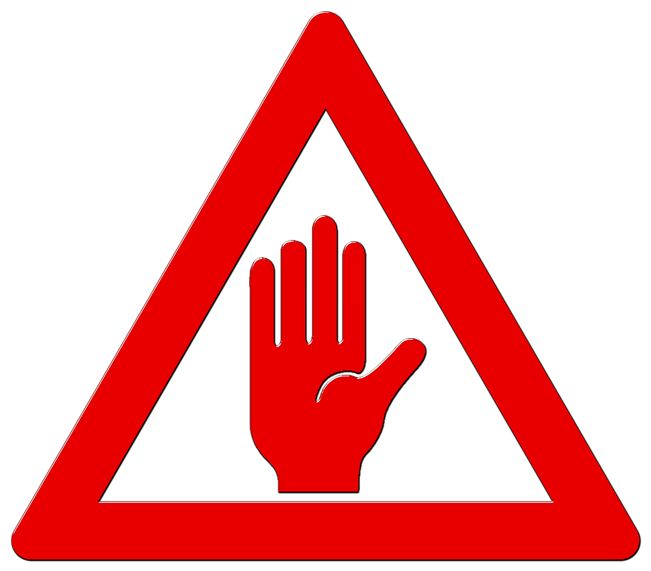 Warning clipart symptom. Msd signs and symptoms