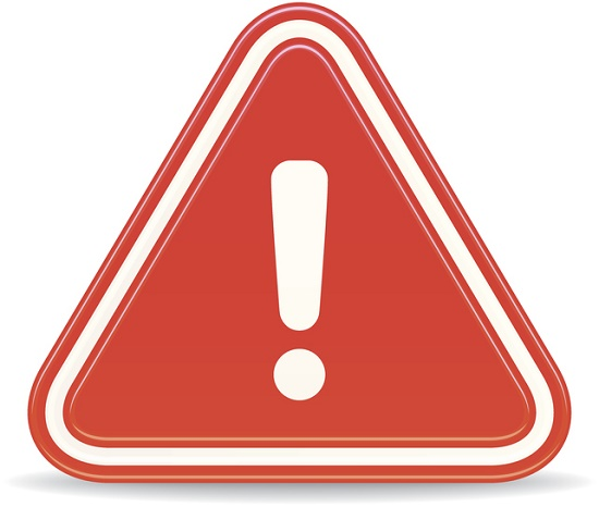 Warning clipart symptom. Top early signs of