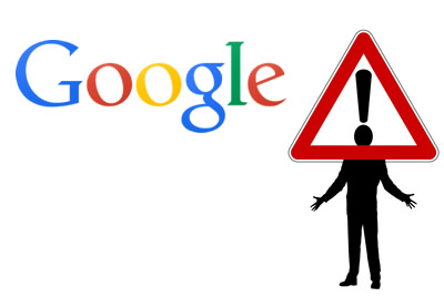 Warning clipart trust issue. Google to not secure