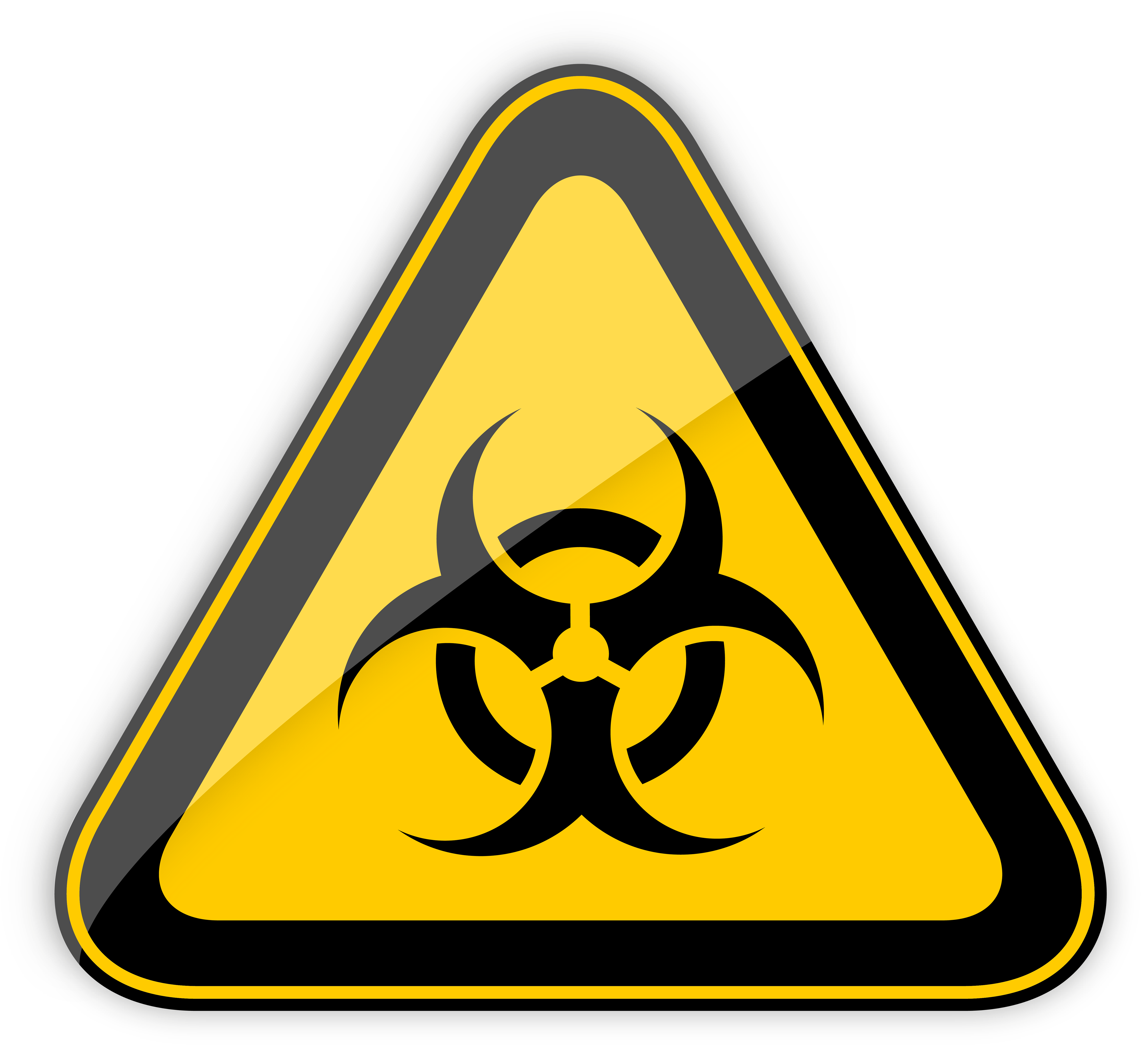 Biohazard transparent clip art. Warning sign png clipart