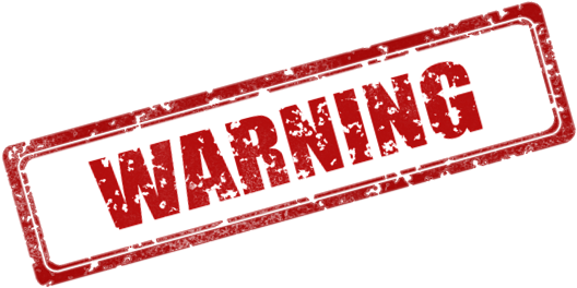 Warning stamp png. Download hd clip art