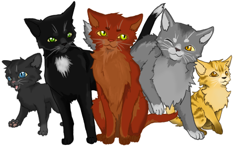 Warrior cats png. Uploaded by wolf claw