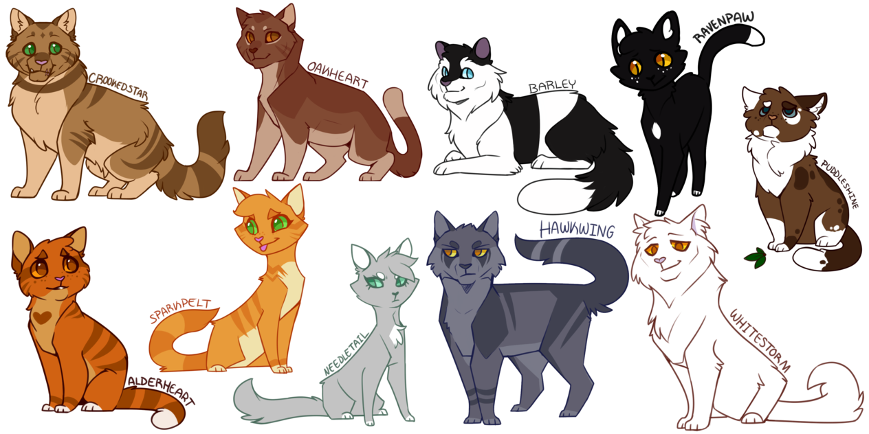 Warrior cats png. Heyyooooo look at that