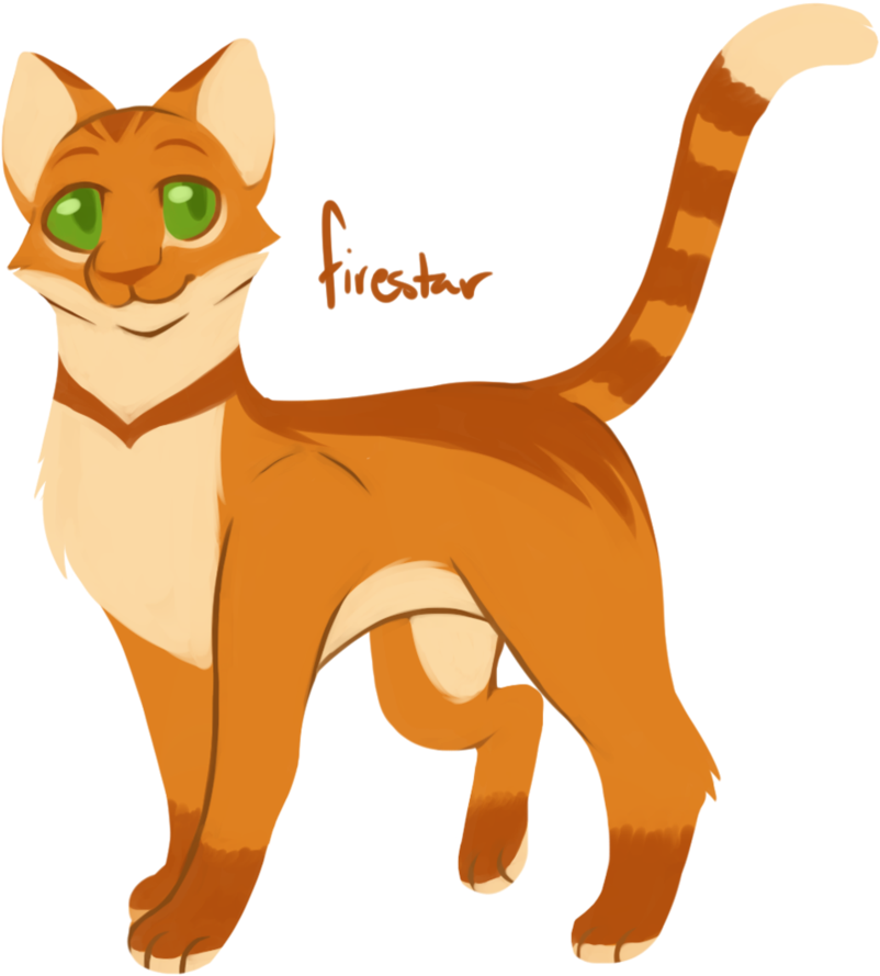 Warrior cats png. Download hd firestar transparent