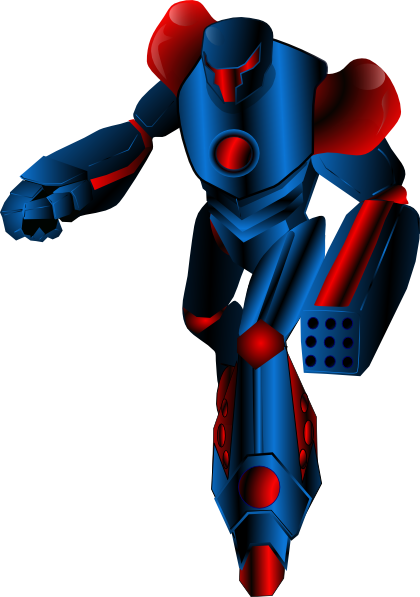 Robot warrior art is. Transformers clip clipart clip art freeuse library