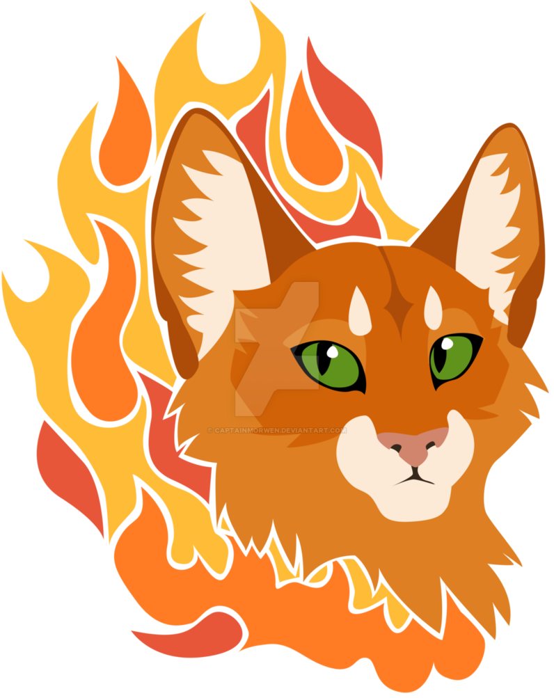 Design by captainmorwen deviantart. Warrior clipart firestar free