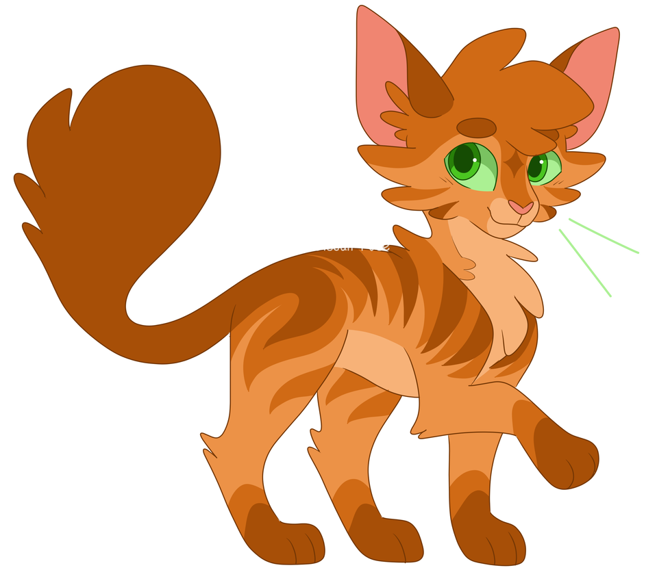 Warriors inktober day by. Warrior clipart firestar banner