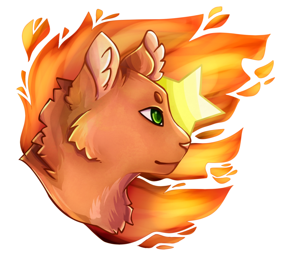 By flavea deviantart com. Warrior clipart firestar graphic royalty free stock