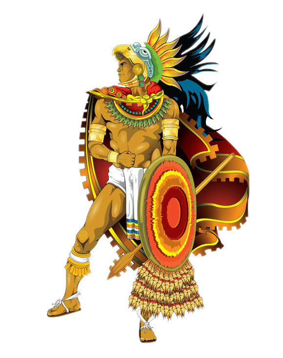 aztec warrior png