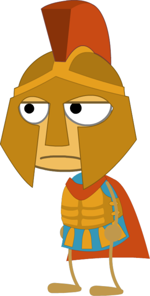 Warrior clipart island warrior. Lost greek poptropica wiki