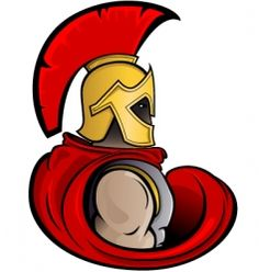 Warrior clipart original. Graphic trojan or spartan