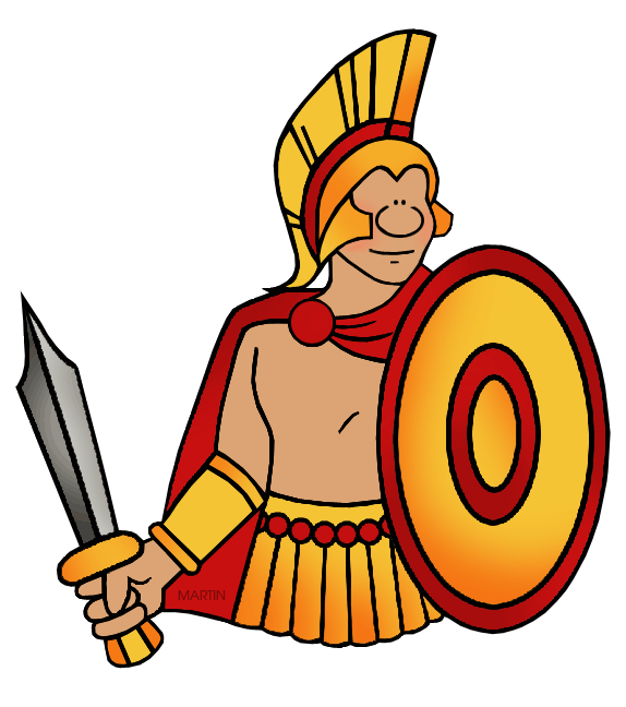 Warrior clipart original. Greek civilization x dumielauxepices