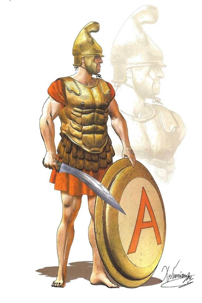 Hoplite mid th century. Warrior clipart soldier athenian banner black and white stock