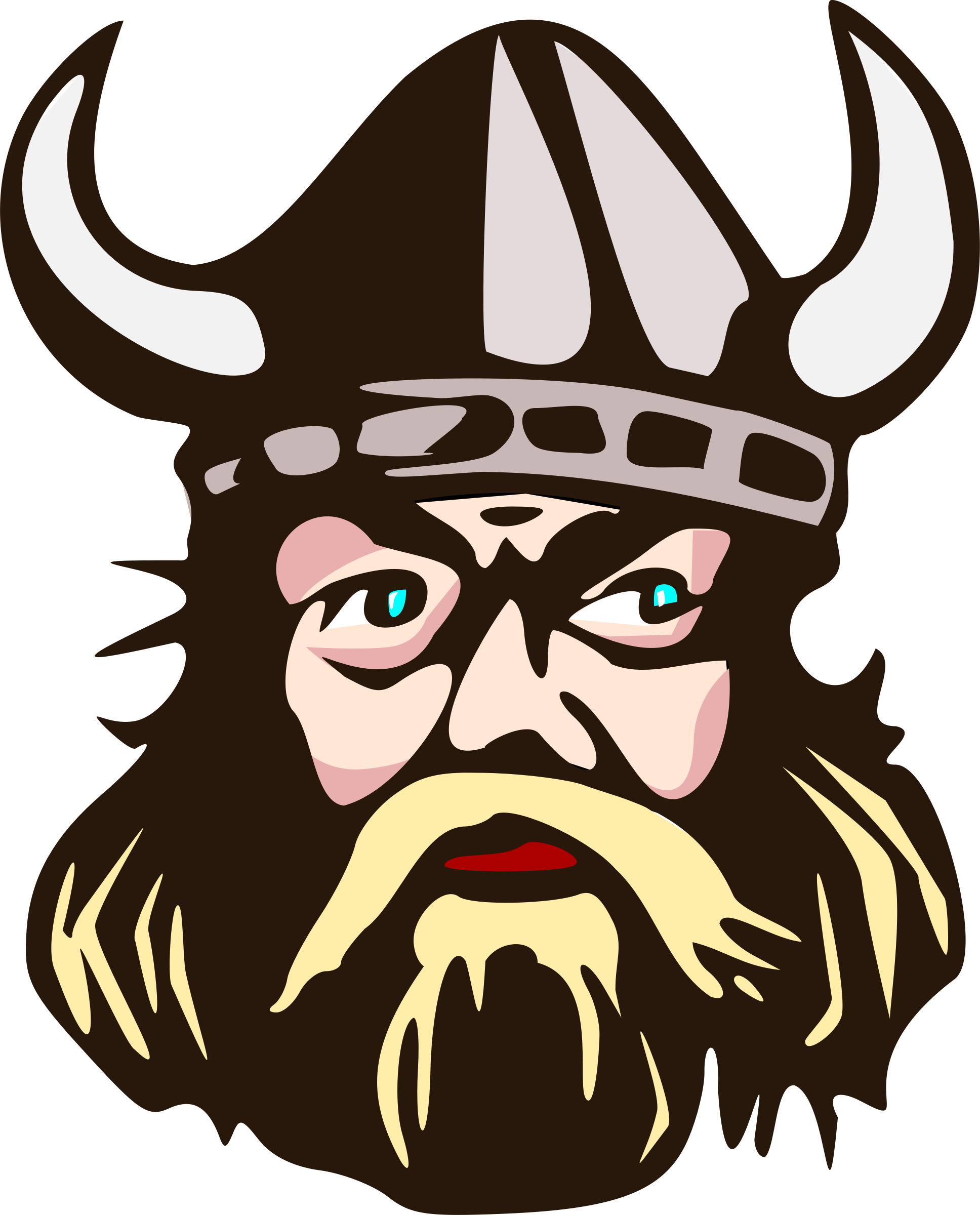 Warrior clipart viking man. Illustration transparent png stickpng