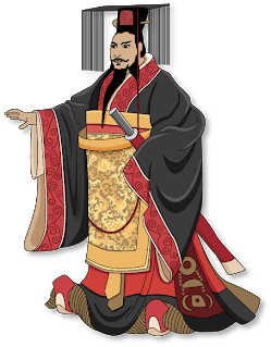 Warrior clipart warrior chinese. The first emperor in