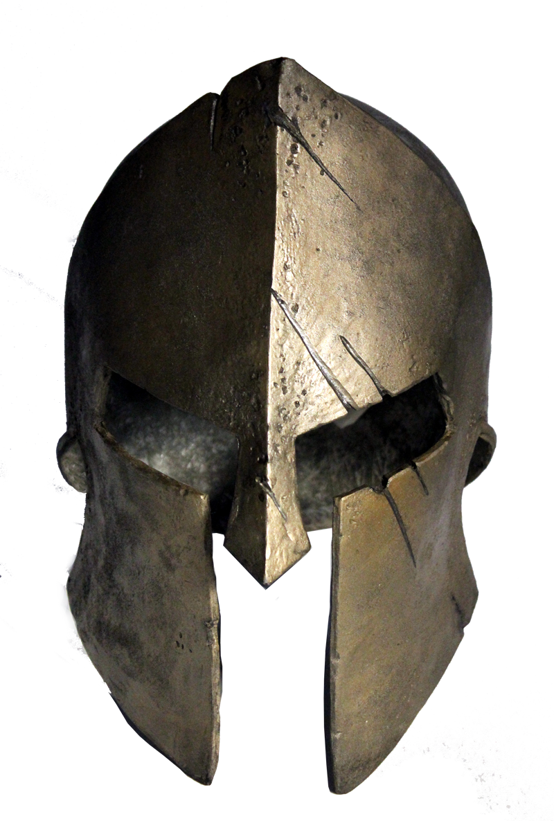 athens drawing helmet armor