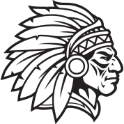 Apache drawing cherokee indians. Indian chief mascot warrior