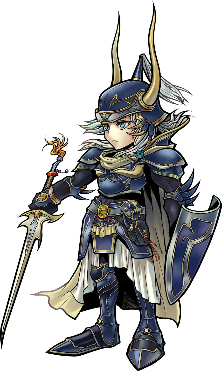 Spear warrior png. Image dffoo of light