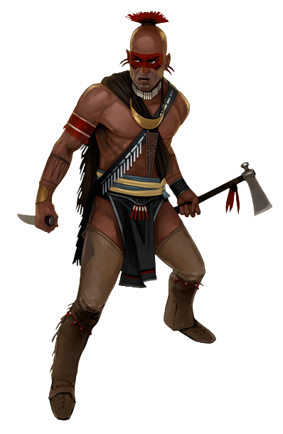 native american warrior png