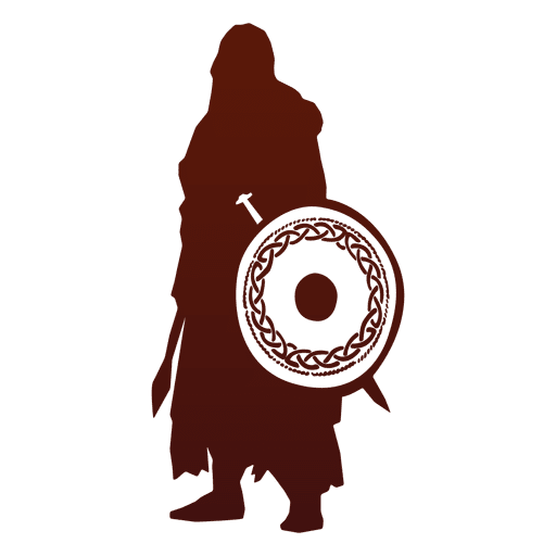 Warrior silhouette png. Viking transparent svg vector