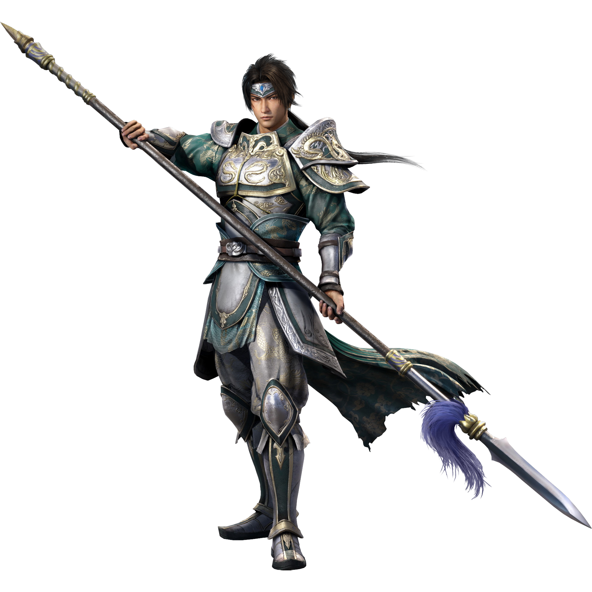 Warrior spear png. Image zhao yun dw