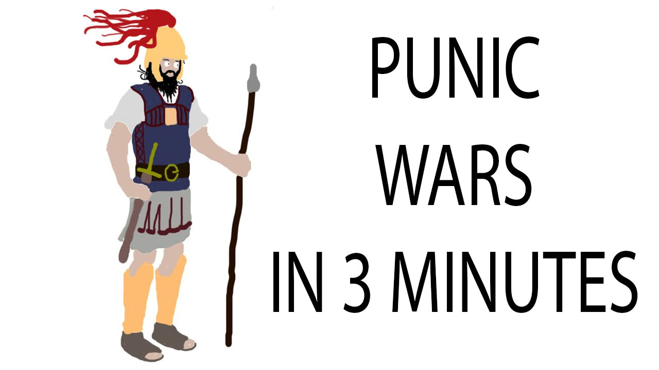 Wars clipart punic wars. Minute history youtube