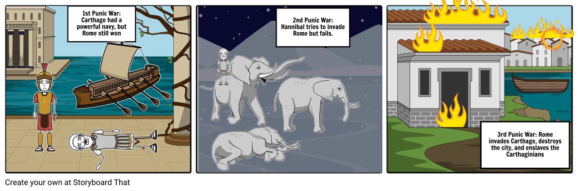 Wars clipart punic wars. Storyboard by mbarr