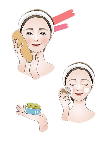 Wash drawing child. Cartoon face icon transprent