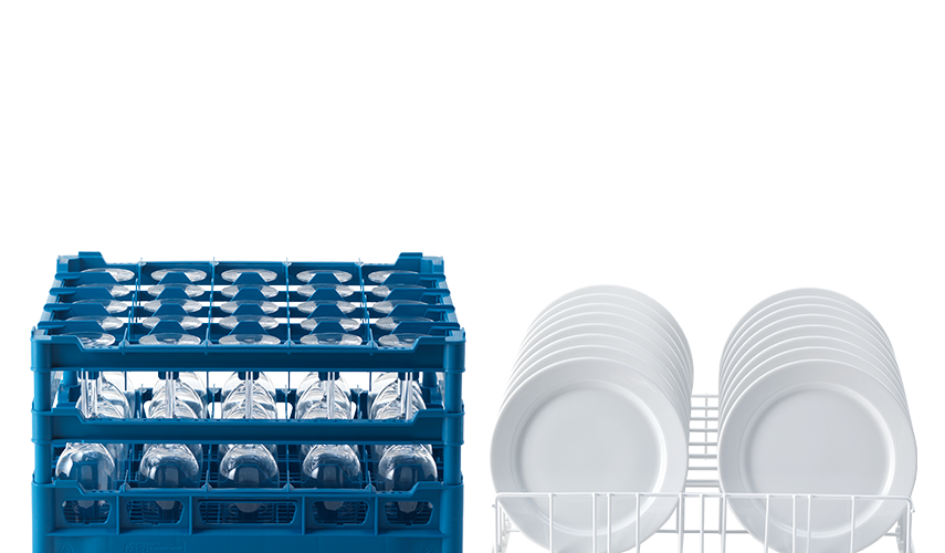 Wash drawing dish washing. Racks suitable for every