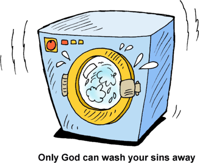 Wash drawing free clipart. Image washing machine only