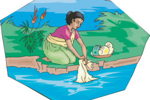 Washing clipart uses water. Of for clothes station