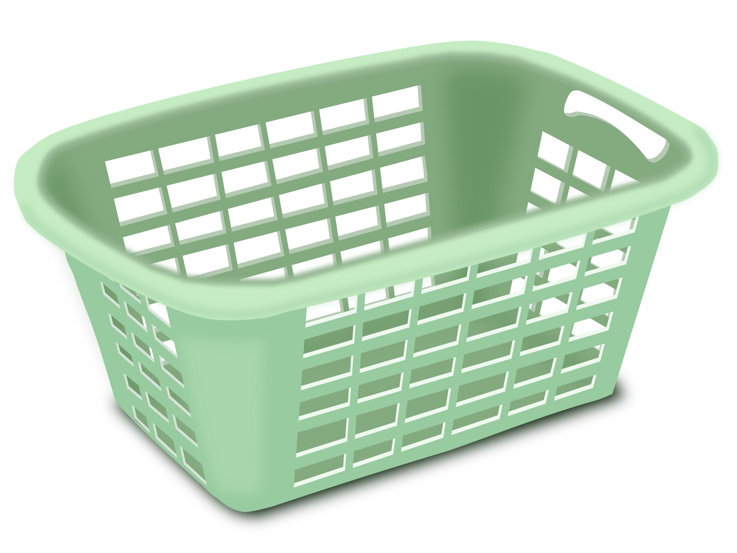 Washing clothes png. Clipart plastic laundry basket