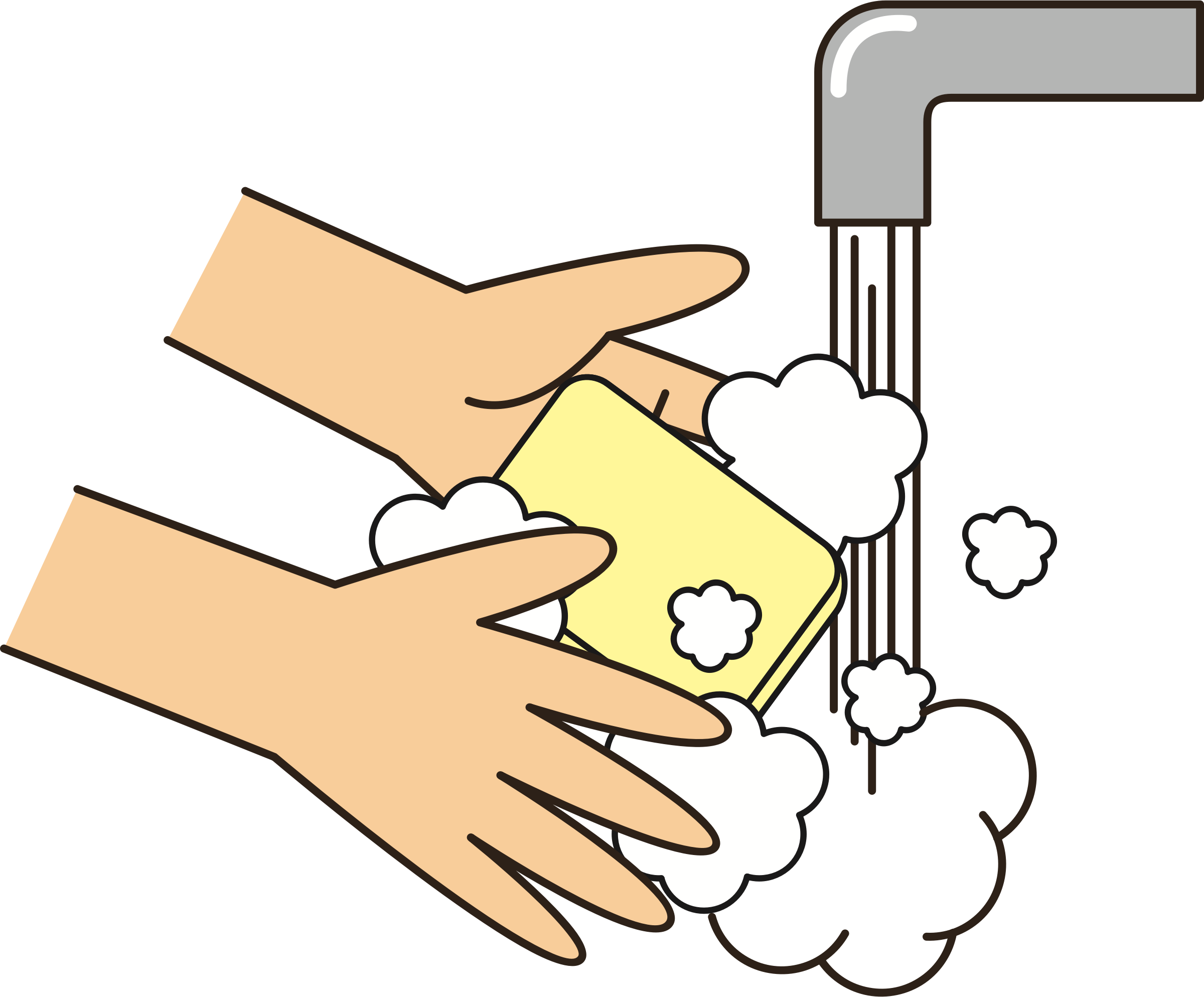 Washing hands png. Wash your with soap