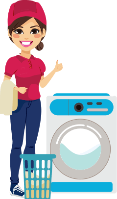 Washing machine clipart laundry service. Perfect wash services delivery